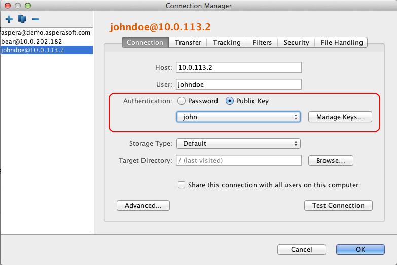 Aspera Client 3 4 5 Documentation - Mac OS X v10 6+