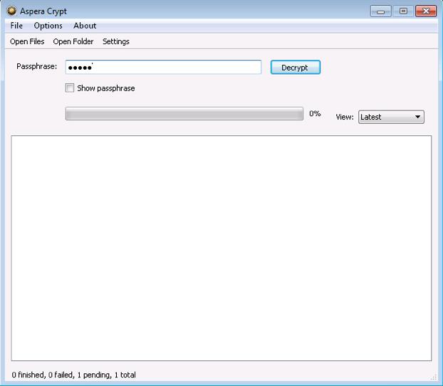 Decrypting Encrypted Files