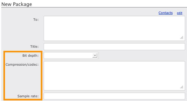 Creating Metadata Profiles