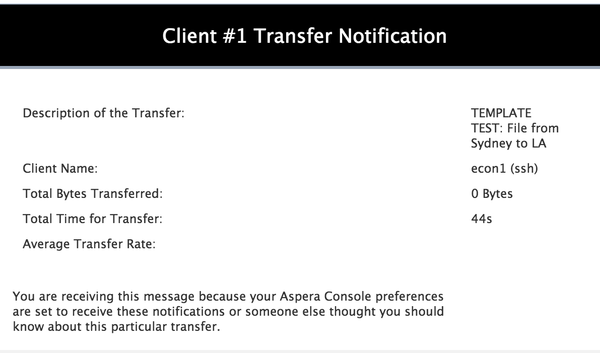 email template example creating a simple notification for a